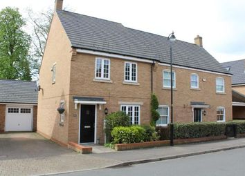 Thumbnail 3 bed semi-detached house for sale in Norman Snow Way, Duston, Northampton, Northamptonshire
