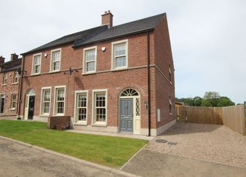 Thumbnail 3 bed semi-detached house for sale in Glen Corr Drive, Newtownabbey