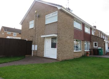 Thumbnail 3 bed semi-detached house for sale in Irwin Drive, Hempshill Vale, Nottingham