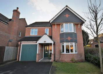 Thumbnail 4 bed detached house for sale in Woods Close, Stapenhill, Burton-On-Trent