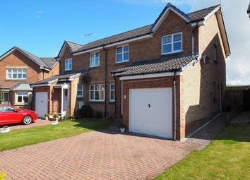 Thumbnail 3 bed semi-detached house for sale in Clytus Court, Saltcoats