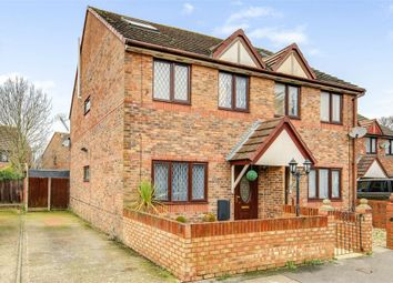 Thumbnail 5 bed semi-detached house for sale in Hodges Close, Havant, Hampshire