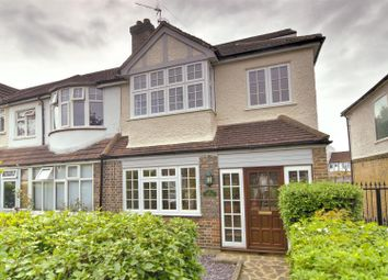 Thumbnail 3 bed end terrace house for sale in Rowan Crescent, London