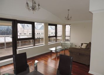 Thumbnail 2 bed flat to rent in Meridian Place, Canary Wharf, London