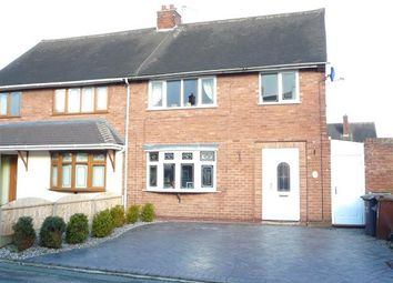 Thumbnail 3 bed semi-detached house for sale in Hill Place, Ashmore Park, Wednesfield