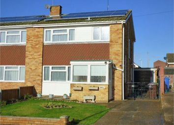 Thumbnail 3 bed semi-detached house for sale in Fleetwood Close, Minster On Sea, Minster, Kent