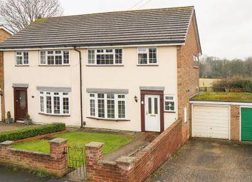 Thumbnail 3 bed semi-detached house for sale in Bright Ridge, Southborough, Tunbridge Wells