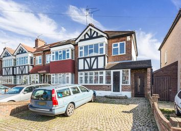 Thumbnail 3 bed semi-detached house for sale in Glastonbury Avenue, Woodford Green