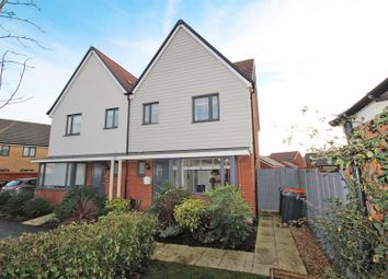 Thumbnail 3 bed semi-detached house for sale in Ashpole Avenue, Wootton, Bedford