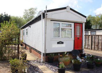 Thumbnail 1 bedroom mobile/park home for sale in Mytchett Farm Park, Mytchett