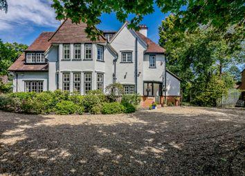 Thumbnail 6 bed detached house for sale in Oakcroft Road, West Byfleet, Surrey