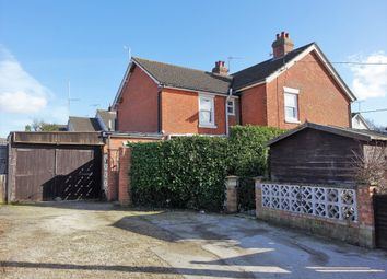 Thumbnail 3 bed semi-detached house for sale in Edward Road, Hythe, Southampton