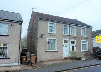 Thumbnail 3 bed semi-detached house for sale in St. Cenydd Road, Caerphilly