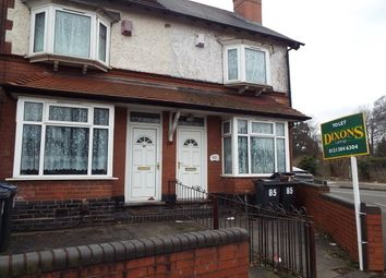 Thumbnail 3 bedroom terraced house to rent in Wood Lane, Handsworth Wood, Birmingham