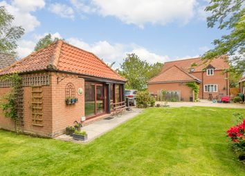 Thumbnail 4 bed detached house for sale in North Barningham Road, Bessingham, Norwich