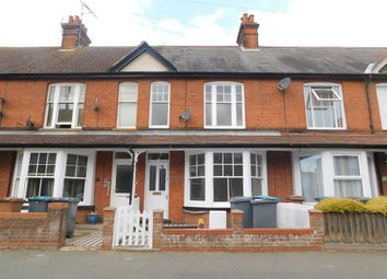 Thumbnail 3 bed terraced house to rent in Highfield Road, Felixstowe