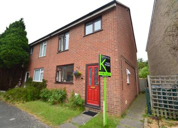 Thumbnail 4 bed semi-detached house for sale in Coopers Road, Martlesham Heath, Ipswich