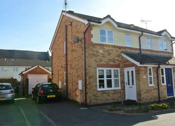 Thumbnail 2 bed semi-detached house for sale in Wakes Close, Bourne, Lincolnshire