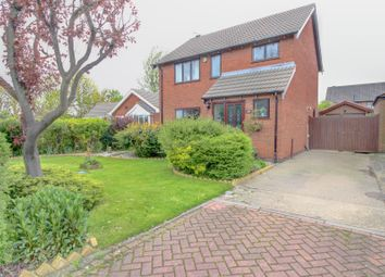 Thumbnail 3 bed detached house for sale in Clee Fields Close, Grimsby