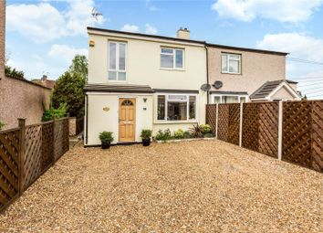 Thumbnail 3 bed semi-detached house for sale in Preston Road, Shepperton, Surrey