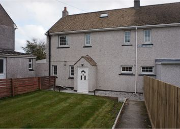 Thumbnail 3 bed semi-detached house for sale in Railway Crescent, Liskeard