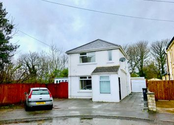 Thumbnail 3 bed detached house for sale in Burrows Road, Baglan, Port Talbot