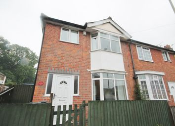 Thumbnail 3 bed end terrace house for sale in Carl Street, Aylestone, Leicester