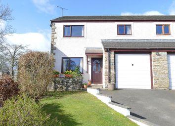 Thumbnail 3 bed semi-detached house for sale in 9 Oak Bank, Newbiggin, Penrith, Cumbria