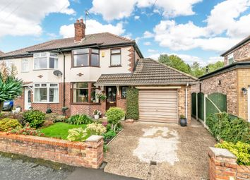 Thumbnail 3 bedroom semi-detached house for sale in Springfield Avenue, Grappenhall, Warrington