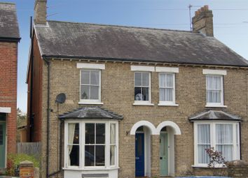 Thumbnail 3 bed semi-detached house for sale in West Road, Bury St. Edmunds