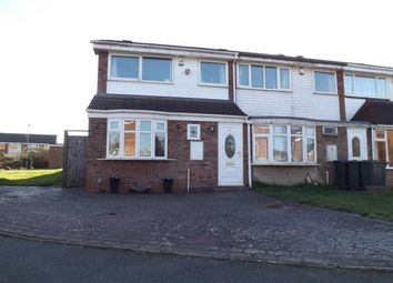 Thumbnail 3 bed end terrace house for sale in Westcombe Grove, Bartley Green, Birmingham, West Midlands
