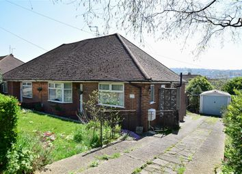 Thumbnail 2 bed semi-detached bungalow for sale in Stoneleigh Avenue, Brighton, East Sussex