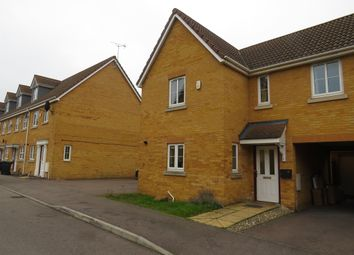 Thumbnail 3 bedroom end terrace house for sale in Temple Gardens, Rushden