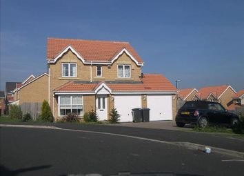 Thumbnail 4 bed detached house for sale in Chapel Drive, Consett