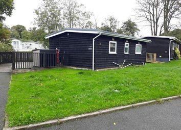 Thumbnail 2 bedroom bungalow for sale in Glan Gwna Holiday Park, Caeathro, Caernarfon, Gwynedd