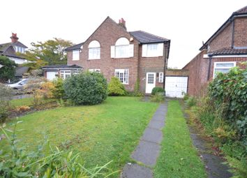 Thumbnail 3 bed semi-detached house for sale in Orient Drive, Woolton, Liverpool