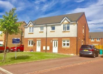 Thumbnail 3 bed semi-detached house for sale in Birdston Drive, Stepps, Glasgow