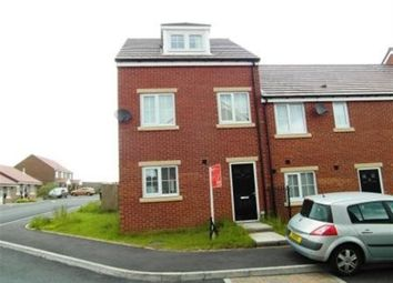 Thumbnail 3 bed town house to rent in Church Square, Brandon, Durham
