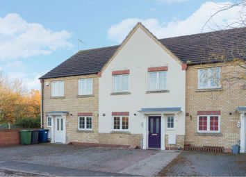 Thumbnail 3 bed terraced house for sale in Bluebell Close, Ramsey St Marys, Huntingdon