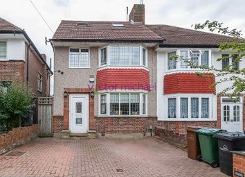 Thumbnail 4 bed semi-detached house for sale in Heriot Avenue, Chingford, London.