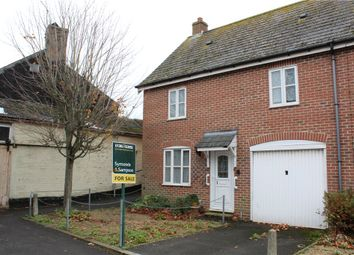 Thumbnail 3 bed end terrace house for sale in Folly Mill Lane, Bridport, Dorset