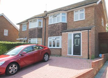 Thumbnail 3 bed semi-detached house to rent in Benenden Road, Wainscott, Rochester