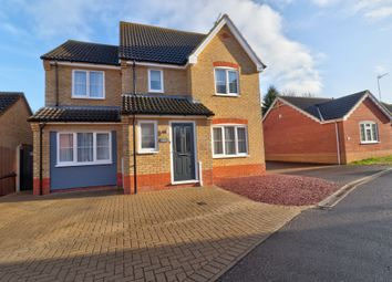 Thumbnail 5 bed detached house for sale in Quinnell Way, Lowestoft