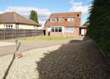 Thumbnail 4 bed detached house for sale in London Road, West Kingsdown, Sevenoaks
