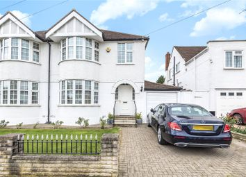 Thumbnail 3 bed semi-detached house for sale in Church Avenue, Pinner, Middlesex