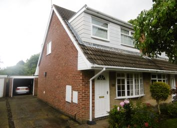 Thumbnail 3 bed semi-detached bungalow for sale in Redcar Road, Stoke-On-Trent