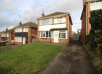 Thumbnail 3 bed detached house for sale in Shenfield Gardens, Bulwell, Nottingham