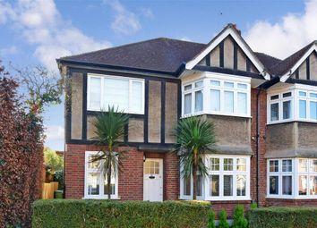 Thumbnail 2 bed maisonette for sale in Grove Avenue, Sutton, Surrey