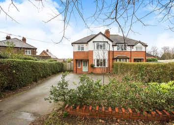 Thumbnail 3 bed semi-detached house for sale in Station Road, Holmes Chapel, Crewe