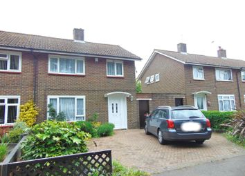 Thumbnail 3 bed semi-detached house to rent in Whistler Close, Crawley